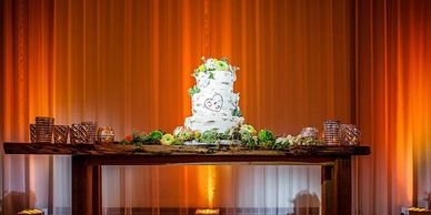 Beautiful cake Wireless Pin Spotting Light  sets the cake off as a masterpiece!