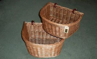Buff randed front cycle baskets