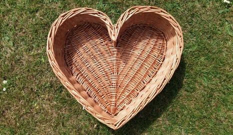 Heart Shaped Basket