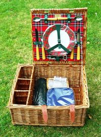 My modern take on the Traditional Picnic Hamper