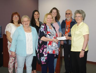 Donation from Athabasca Peace Initiative.