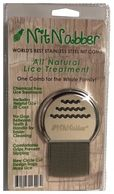 The NitNabber is the World's Best Lice Comb. It is a Mom's Choice Gold Medal Winner.