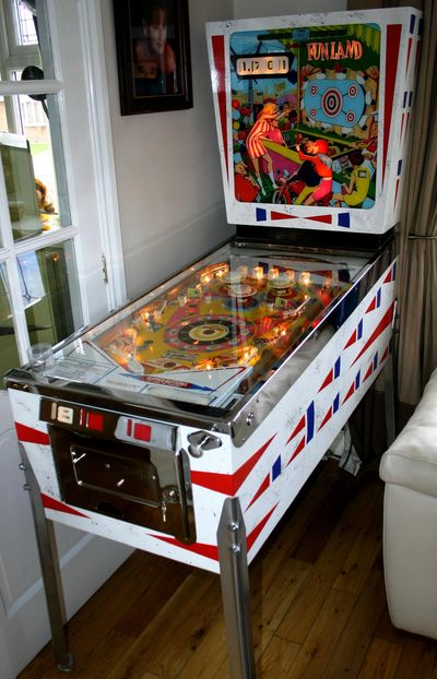 Funland Classic Pinball Rated in IPDP top 300 electro mechanical pinball machines at number 19.