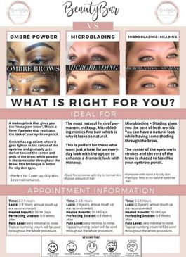 Brow Services or Techniques offered: