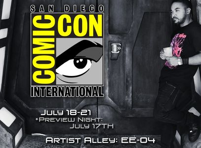 Ben Russel San Diego Comic Con