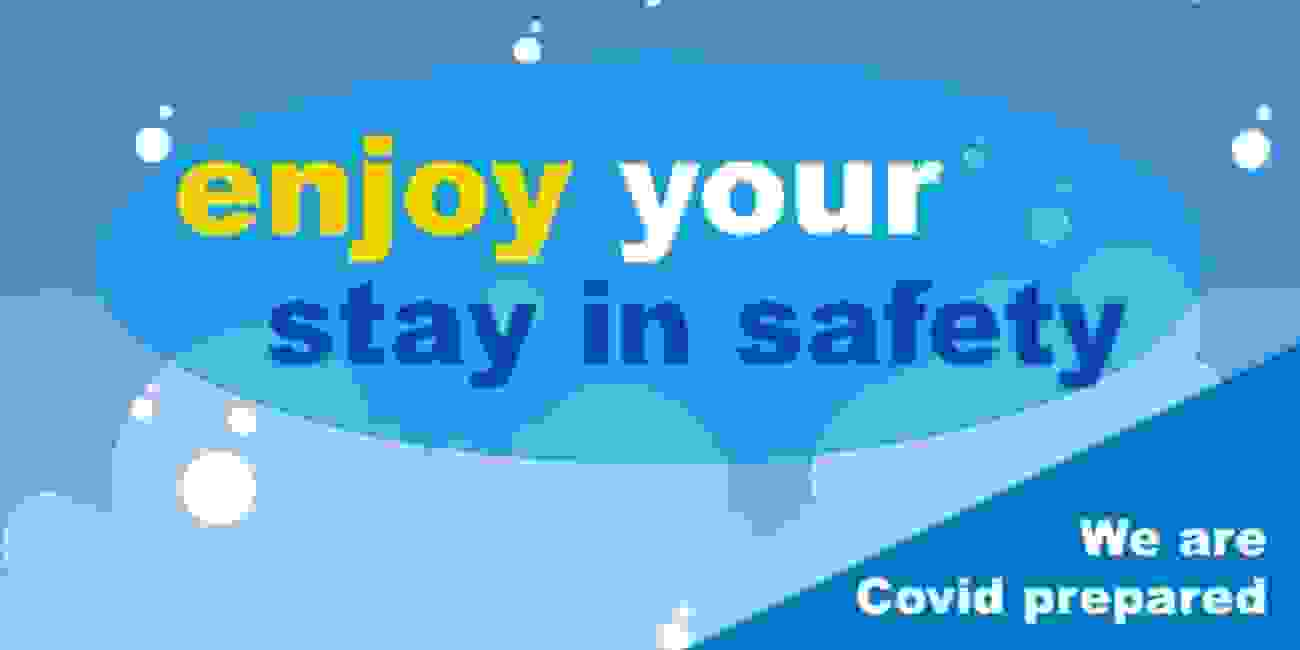 We are following all current COVID-19 guidelines so you book your stay here with confidence.