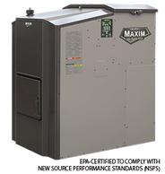 Central Boiler outdoor pellet or corn stove furnace EPA certified Maxim