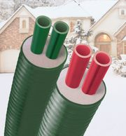 Central Boiler Insulated Underground Pipe Tubing PEX ThermoPex