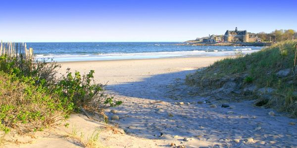 Beautiful RI beaches are nearby by boat or car!