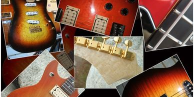 custom built guitars luthier