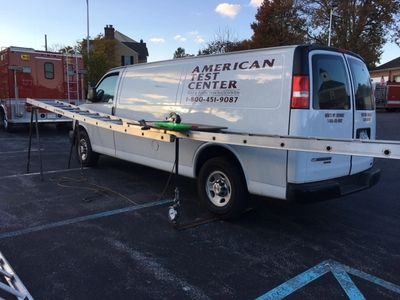 Ground Ladder Testing   American Test Center