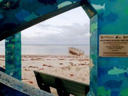Quindalup Jetty Artwork