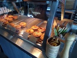 Gracies General store is a great place to grab a coffee and a tasty fresh  'Little Pie Lane' PIE