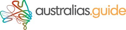 Australias Guide online Directory logo graphic of Australia