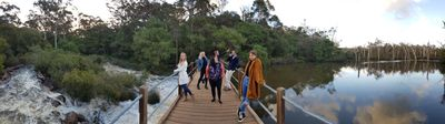Barrett St Weir in Margaret River