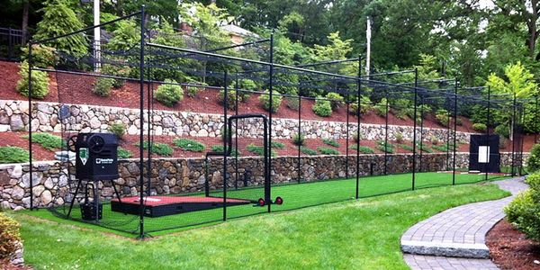 outdoor batting cages in Edmond, Outdoor baseball cages in Edmond, Outdoor hitting cages in Edmond