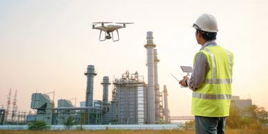 Smart Energy Drones for Inspection. LTE Enabled drones have less latency than WiFi.