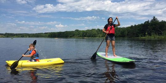 kayak, stand up paddle, explore new york, youth adventures, nature, outdoor recreation, paddle skill