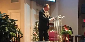 Dr. David Kees of Smiths Station Baptist Church in Smiths Station Alabama