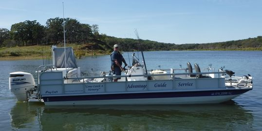 Striper Fishing, Lake Texoma Striper Guide, Advantage Guide Service, Jim McDonald