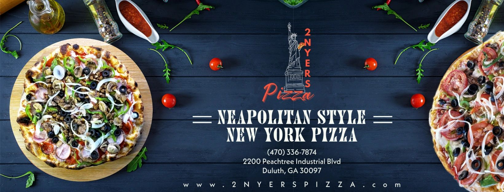 2 NYers Pizza - Pizza Restaurant - Duluth, Georgia
