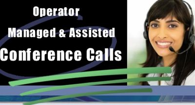 Operator Managed Assisted Conference Calls