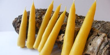 Present Past Historical Crafts - Handmade beeswax candles