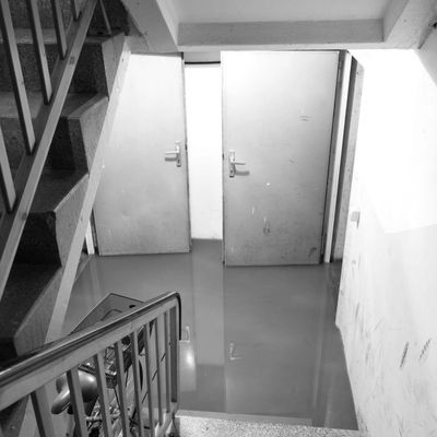 Flooded cellar