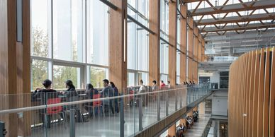 Wayfinding at UBC Vancouver offers searchable maps for locations on campus.