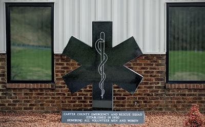 New Monument in front of Station 1 in Soney Creek honoring all volunteers past and present.