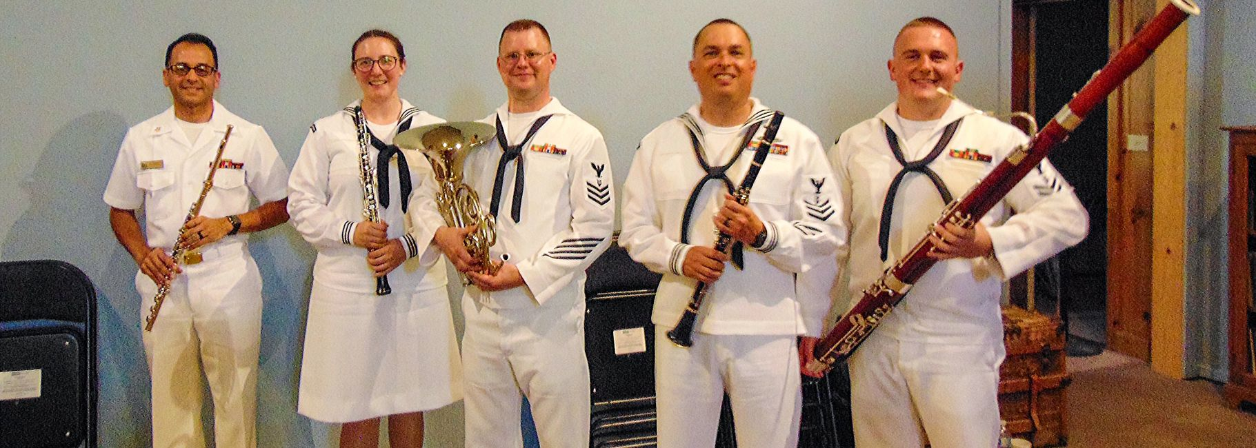 Formed in 1985, the Navy Band Woodwind Quintet maintains a varied repertoire dating from the 18th to