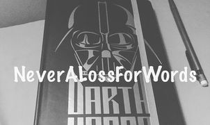 A picture of my Darth Vader notebook