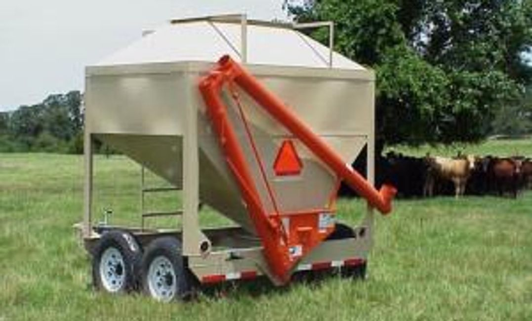 Portable Storage feed/seed buggy