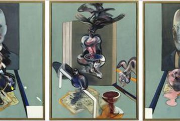 Triptych  by Francis Bacon
