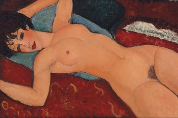 Nu Couche by Amadeus Modigliani