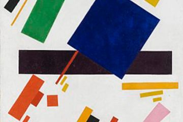 Supremacist Composition by Kazimir Malevich