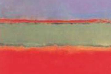 No.6 Violet, Green and Red by Mark Rothko Oil on Canvas