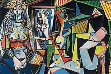 The Women of Algiers by Pablo Picasso