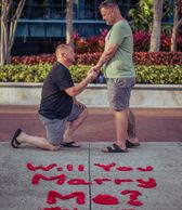 gay proposal  LGBTQ  LGBTQ proposal marriage equality love is love gay pride pride proposal