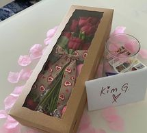 Special delivery, roses, romance concierge, concierge delivery, just because gift, strawberries