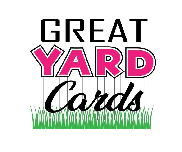 Skip the card and decorate the yard