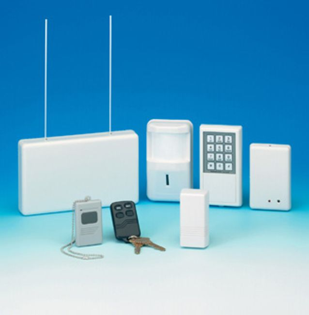 Alarm  system, wireless alarm, alarm monitoring, burglar alarm, DSC,  keypad, motion, contact, smoke