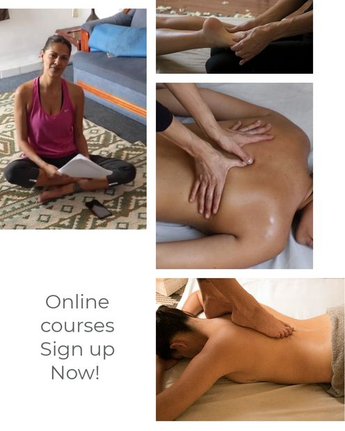 Online massage training courses