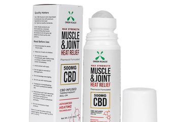 Green Roads, CBD oil, Joint relief, Muscle, heat relief