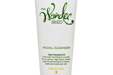 english daisy facial cleanser, organic, the wonder seed, natural, vegan