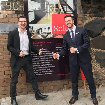 Buyer Advocacy success at an Auction in Melbourne's competitive real estate market.
