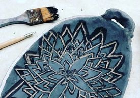 Sgraffito Clay Carving Class