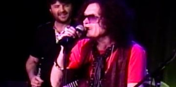 Ken Van Wagenen and Glenn Hughes at the Whisky on Sunset Strip
