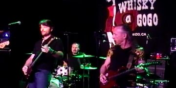 Ken Van Wagenen and Mark Farner at the Whisky on Sunset Strip