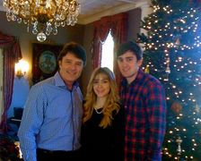 Ryan Van Wagenen, Melissa, and Ken Van Wagenen in Pasadena for the Holidays